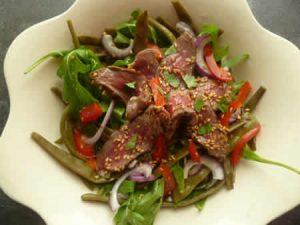 salade thai de boeuf