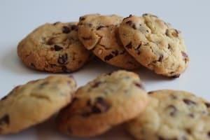 cookies chocolat noisettes