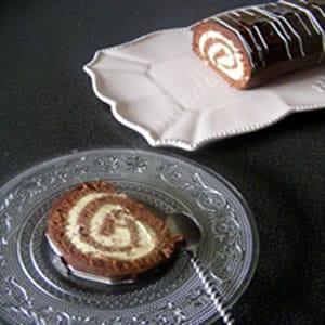 gateaux roule chocolat meringue
