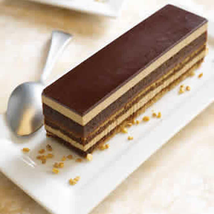 Opera cake is beun'aise: chocolate your pause!