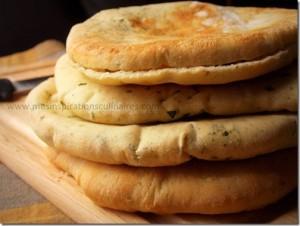 pain pita libanais au cumin
