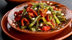 salade de poivrons grilles