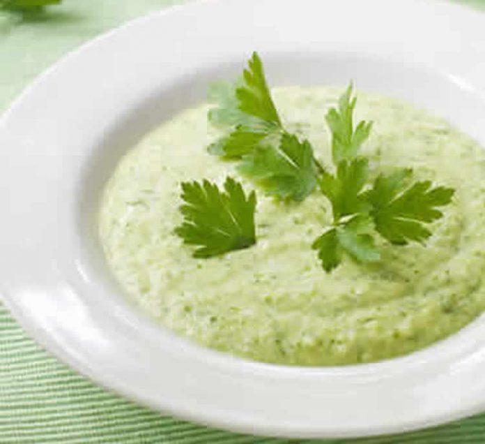 soupe aux celeri et aux courgettes