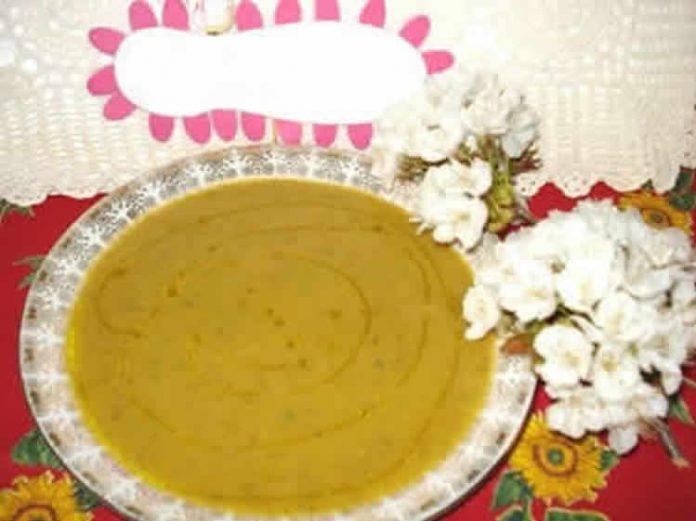 Soupe de legumes poêlés