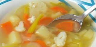 soupe de legumes varies