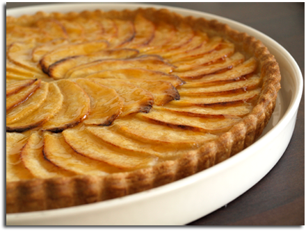 tarte pommes alsacienne