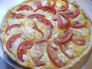 tarte chevre et tomate