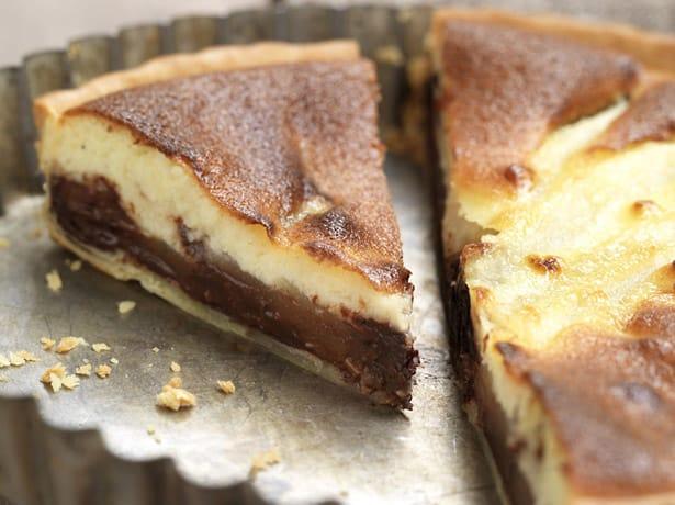 Tarte chocolat et poires recette facile la maison - Maison de la pomme et de la poire ...