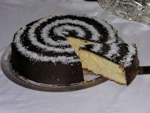 gateau semi biscuite noix de coco chocolat