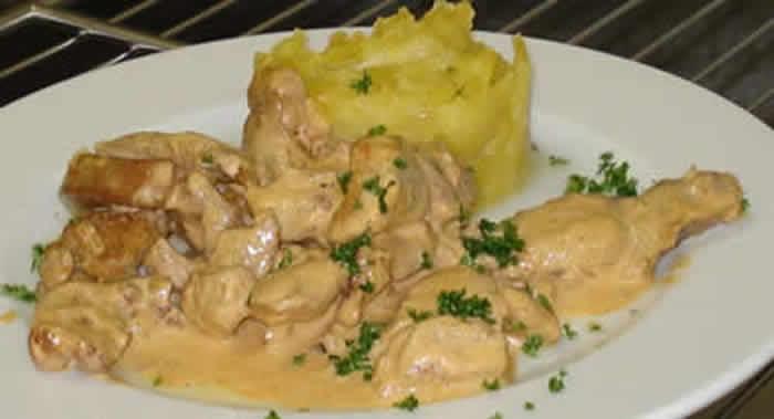 Emince de dinde a la moutarde avec cookeo recette facile - Plat a cuisiner facile ...