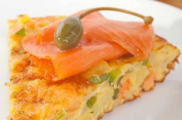 Amuse bouches aux courgettes et saumon fumé avec thermomix