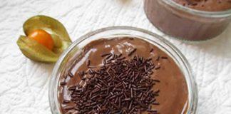 Créme légère au chocolat avec cookeo