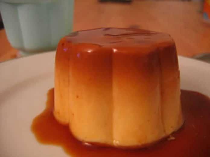 flan au caramel avec thermomix