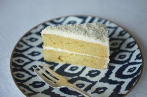 Gâteau à la vanille sans oeufs