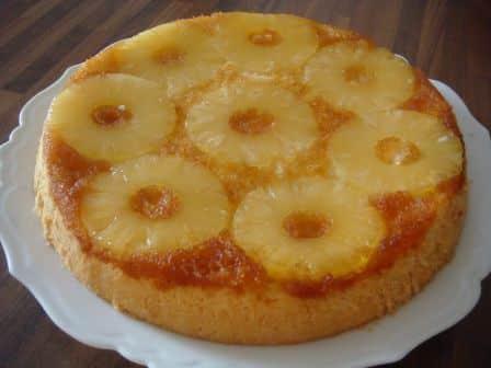 Gateau ananas caramelise avec thermomix recette facile - Recette dessert rapide thermomix ...
