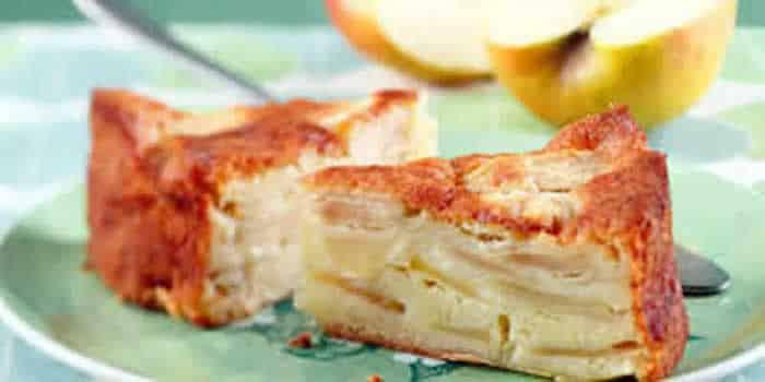 G teau au yaourt et pommes avec thermomix recette facile - Gateau nature thermomix ...