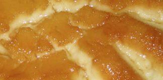 Gâteau de semoule aux pommes et au caramel avec Thermomix