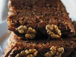 gateau leger au chocolat et aux noix