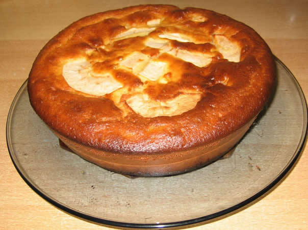 G teau aux pommes et yaourt avec thermomix fait maison - Gateau nature thermomix ...