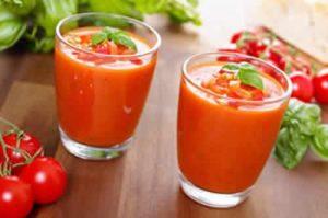 gaspacho tomate avec thermomix