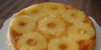 gateau ananas caramelise avec thermomix