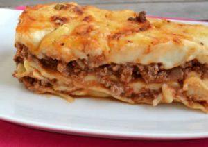 lasagnes bolognaise avec thermomix