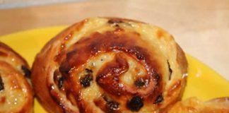 petits pains aux raisins avec thermomix