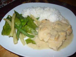 poitrines de poulet au fromage avec mijoteuse