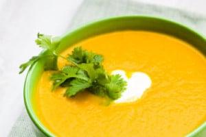Potage aux carottes et pomme de terre avec thermomix