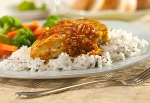 poulet aux canneberges et orange avec mijoteuse
