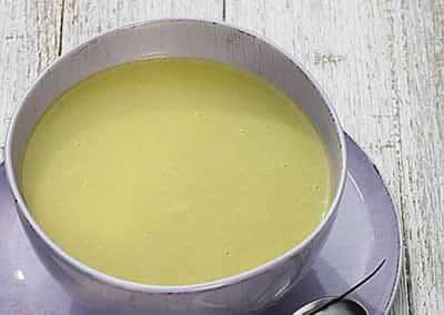 Soupe au concombre avec thermomix