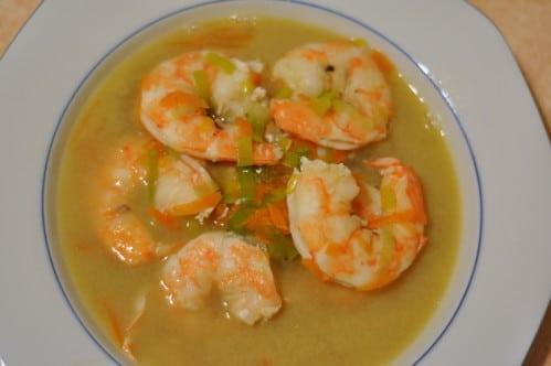 Soupe de crevette avec thermomix recette facile maison - Recette soupe thermomix ...