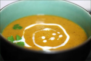 soupe de lentilles corail avec thermomix
