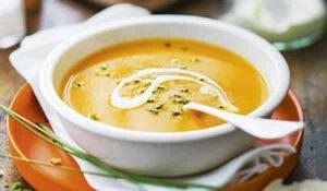 soupe de patates douces aux epices avec thermomix