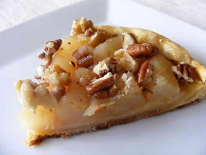 tartelettes pomme miel noix avec thermomix
