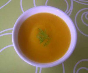 veloute de carottes poireaux avec thermomix