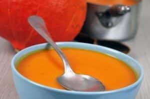 veloute de potimarron et carottes avec thermomix