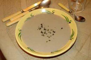 Velouté champignon thermomix