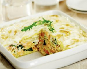 lasagnes au saumon et epinards
