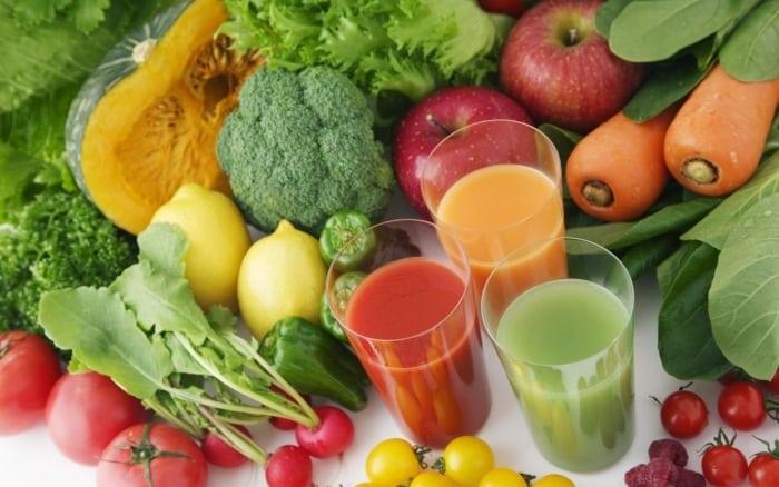 liste des meilleurs fruits et legumes detox