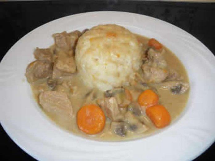 blanquette de veau avec cookeo