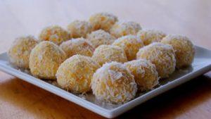 boules abricot et noix de coco sans gluten