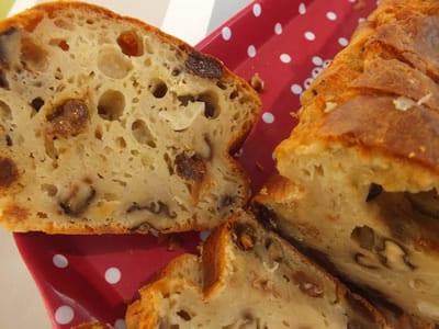 Recette Cake Au Ch Ef Bf Bdvre Noix Et Raisins