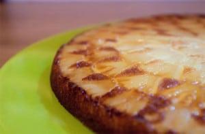 clafoutis pomme ananas sans gluten