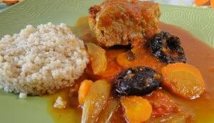 filet mignon aux pruneaux et carottes