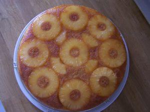 gateau ananas avec thermomix