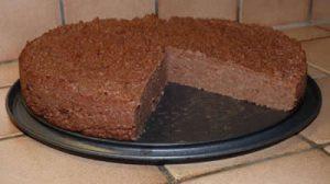 Gâteau de semoule au chocolat facile
