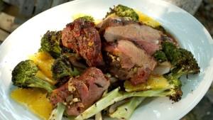 gigot agneau brocolis et pommes de terre avec cookeo