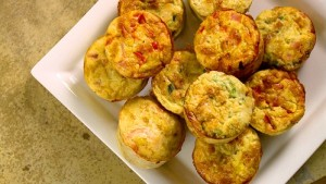 mini quiches sans pate avec thermomix