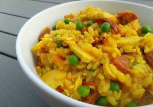 Paella indienne avec cookeo